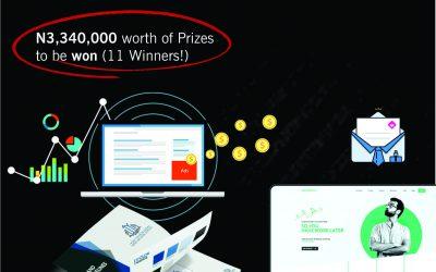 Entrepreneurs: Over N3,000,000.00 Prizes to be WON!